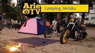 Arie Ride TV Cing Tanjung Putri Melaka Bobber Motorcycle