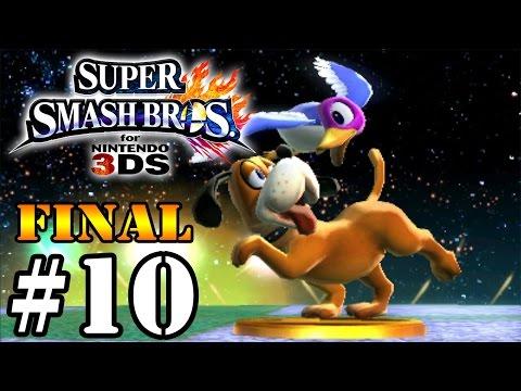 Super Smash Bros for 3DS - Classic Mode #10 [FINAL] - DuckHunt