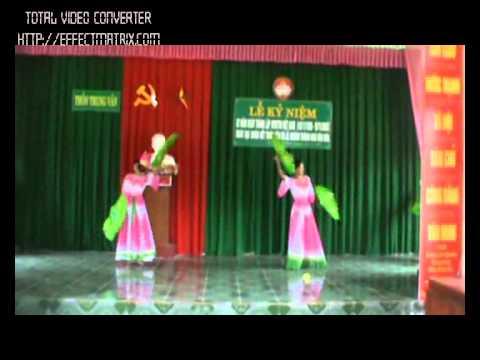 Khanh Thanh Nha Van Hoa Thon TRung Van - Thach Van