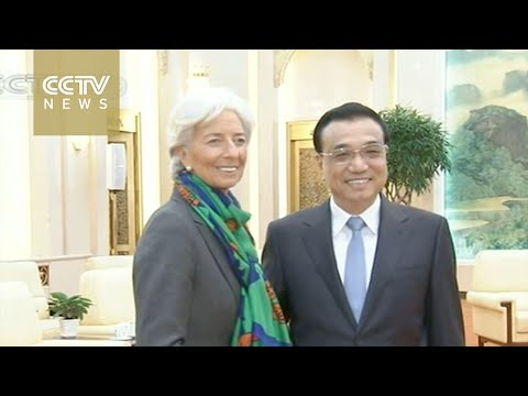 Li Keqiang meets IMF chief & ADB president in Beijing