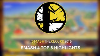 Smash The Record 2015 - Smash 4 Top 8 Highlights!