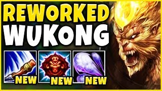NEW WUKONG REWORK IS LEGIT 100% BROKEN! (CLONE FIGHTS NOW) Reworked Wukong Gameplay - LoL