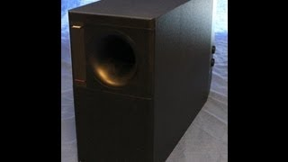 Bose Subwoofer (Bass I Love You)