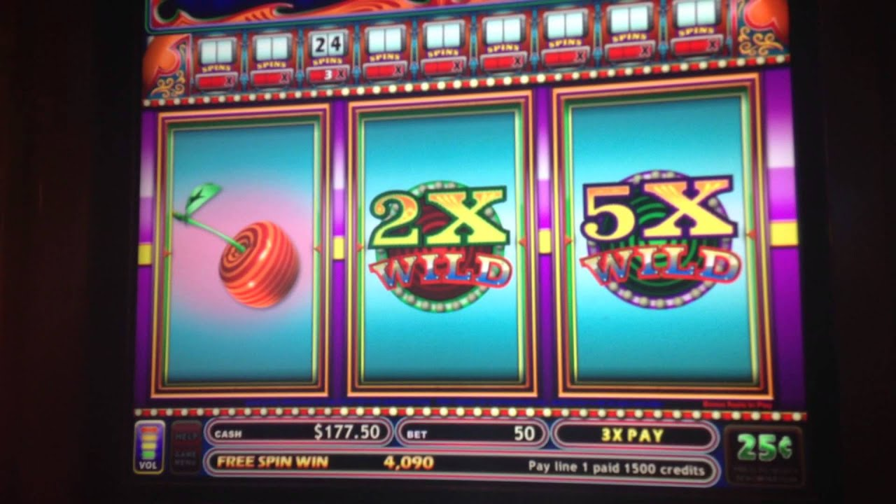 Huge jackpot win slot machine