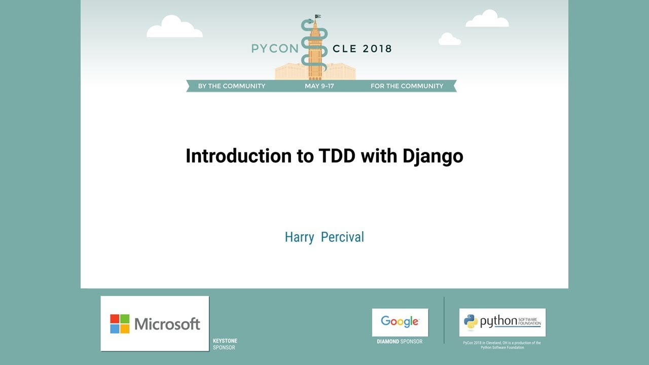 Image from Introduction to TDD with Django
