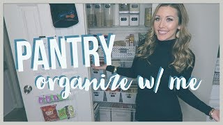 ORGANIZE W/ ME | kitchen pantry clean | brianna k