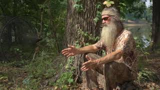 The Story of Phil Robertson's House | In the Woods with Phil