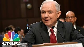 AG Jeff Sessions Defends Donald Trump's Remarks On Charlottesville   CNBC Free HD Video