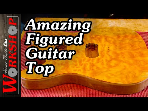How to make a Quilted Maple Guitar Top