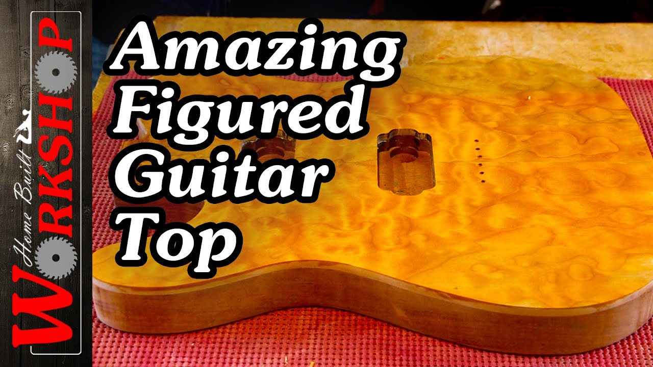 How to make a Quilted Maple Guitar Top - YouTube : quilted maple guitar tops - Adamdwight.com