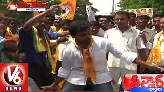 Telangana Puli Bidda Song on Revanth Reddy l Karimnagar | Teenmaar News - V6 News