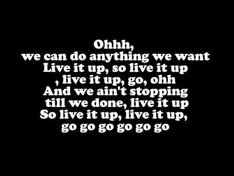 Jennifer Lopez - Live It Up ft. Pitbull (LYRICS)