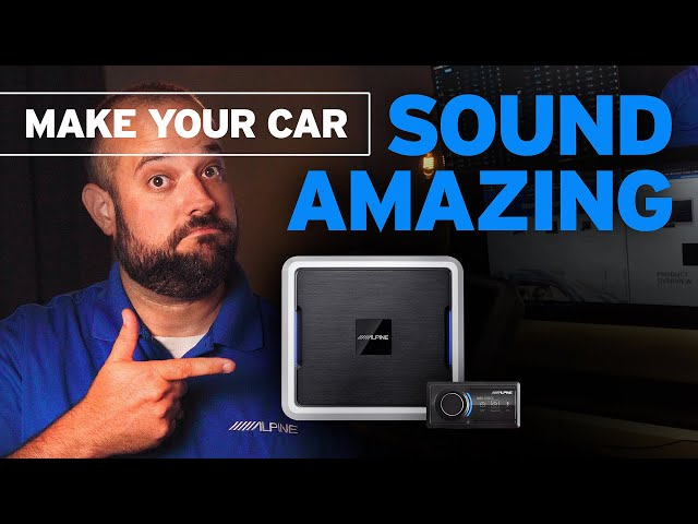 Your car can sound AMAZING without changing your factory radio