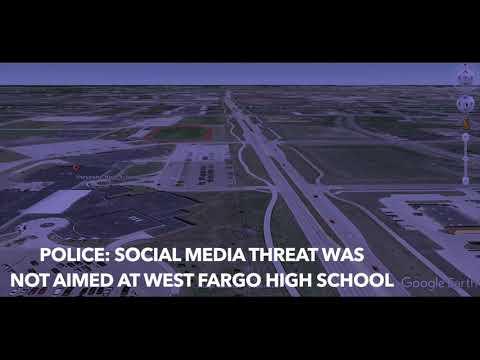 Police Say Social Media Threat Was Not Aimed At West Fargo High School