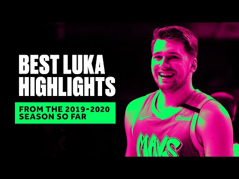 Luka Doncic Leveled Up In Season 2, Top Plays From 2019-2020 Season So Far