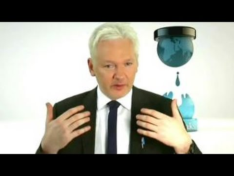 Julian Assange talks 'revealing the truth' through WikiLeaks