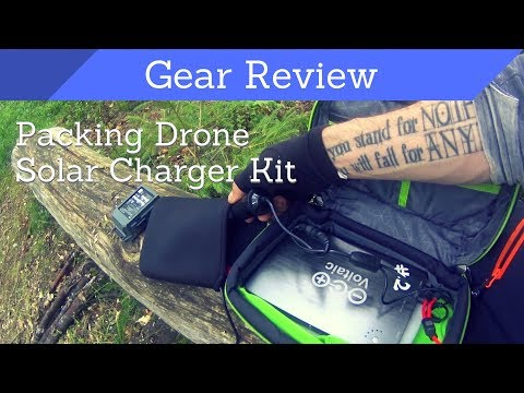 Packing my Mavic Drone Solar Charging System – Gear Review – Voltaic Arc 20W and V72 batteries