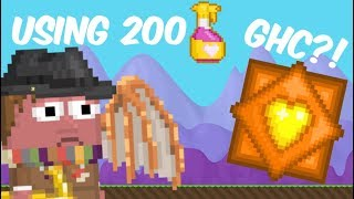 Growtopia | Using 200 Love potions - GHC?!