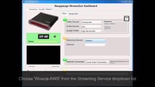 StreamEez-Pro setup with Amazon/Wowza DevPay
