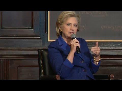 Hillary Clinton speech at Georgetown University: