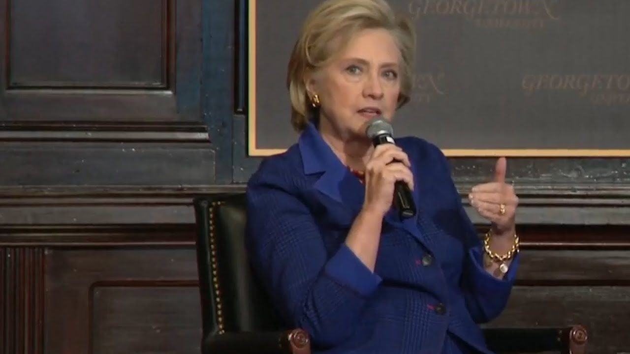women-s-voices-are-not-shutting-up-says-hillary-clinton-in-speech-at-georgetown-university