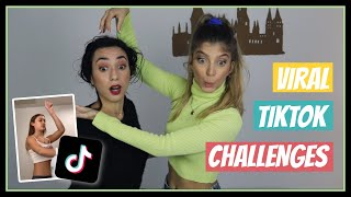 Δοκιμάζουμε τα πιο VIRAL TikTok Challenges #2 || fraoules22