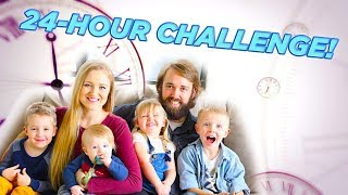 24 Hours Challenge! Full Day Vlog--Day in Our Life! / The Beach House