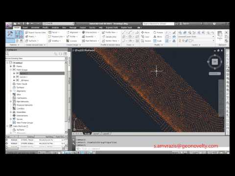 Civil 3d 2013 Tutorial 1 point groups and surfaces