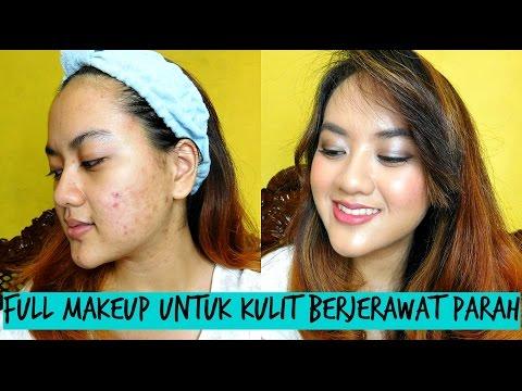Tutorial Full Makeup untuk Jerawat Parah - Alifah Ratu Saelynda (ft. Wardah, La Tulipe, Maybelline)