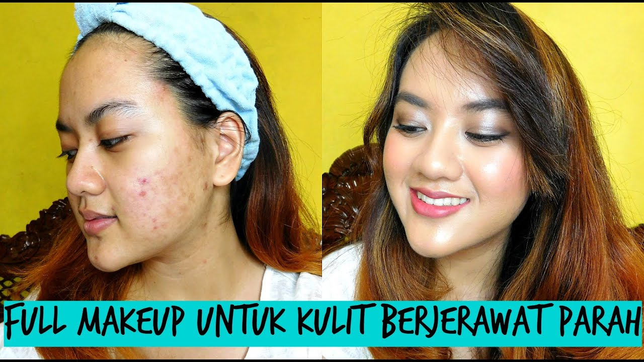 Tutorial Make Up Natural Menutupi Jerawat