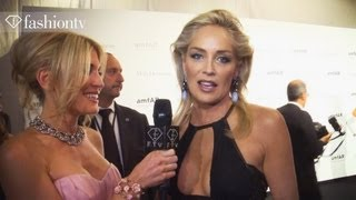 amfAR Gala ft Sharon Stone, Kenneth Cole, Solange Knowles, Hofit Golan | Milan FW 2012 | FashionTV
