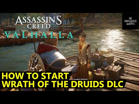 How to Start Wrath of The Druids DLC Story in AC Valhalla