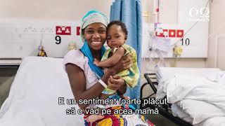 Medicii crestini voluntari de la Mercy Ships efectueaza operatia cu numarul 100,000