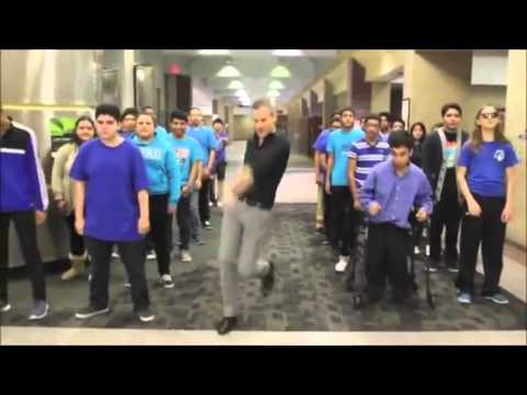 Must see video of 2015 - Uptown Funk by Maceo Smith New Tech High School Full Version