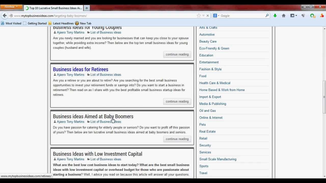 List Of Business Ideas Bonus A List Of Business Ideas For You