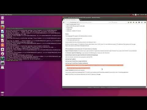 Installing the Hauppauge TV tuner PPA for Ubuntu - YouTube