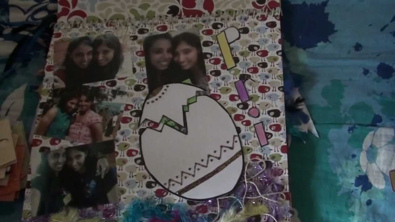 21st Birthday Scrapbook Idea YouTube