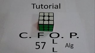 57 All OLL Algorithm