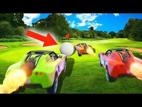 EXTREME CAR GOLF CHALLENGE! (GTA 5 Funny...
