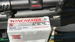 .300 Winchester Magnum, 150gr JSP, (X30WM1), Winchester Velocity and Accuracy