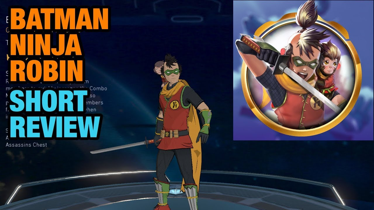 Injustice 2 Mobile Batman Ninja Robin Review Youtube