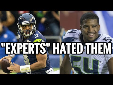 NFL Experts could not have been MORE WRONG about the Seahawks 2012 NFL Draft