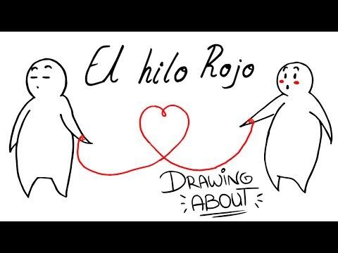 EL HILO ROJO DEL DESTINO❣ | Drawing About