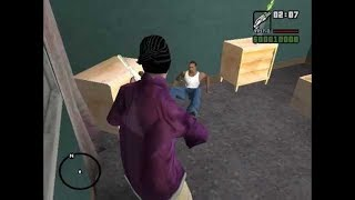 Балласы убили Сиджея в GTA San Andreas...😱