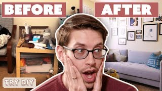 Download Keith & Becky's $3,000 Junk Room Makeover • Try DIY Mp3 and Videos