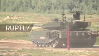 Russia: T-90M tank makes debut at Army 2018