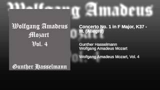 Concerto No. 1 in F Major, K37 - III. (Allegro)