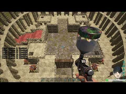 Ark Survival Evolved Creative Building - Roman Coliseum (Coliseum-Gladiator Pit #4) - Stream #13