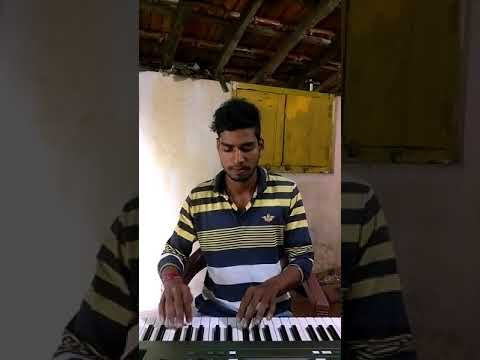 Dok firlaya song on piano (Anand shinde Song)