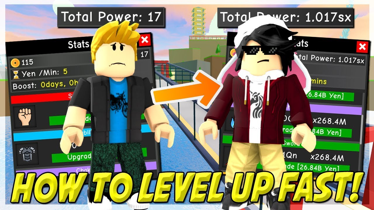 Download HOW TO LEVEL UP FAST IN ANIME FIGHTING SIMULATOR ROBLOX